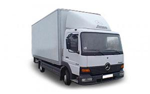Mercedes MAN с гидролифтом